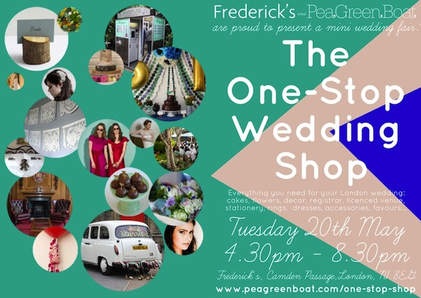 the one stop wedding shop london