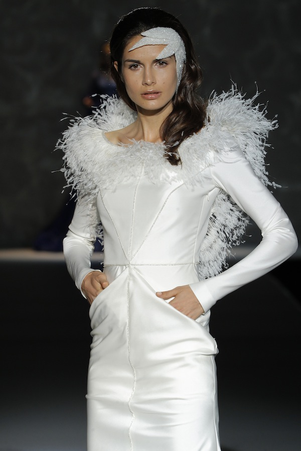isabel zapardiez barcelona bridal week