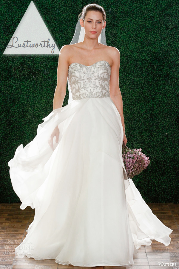 CRUSH OF THE WEEK - WATTERS DANIELA WEDDING DRESS - The Bijou Bride