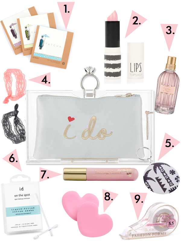 bridal emergency kit bag