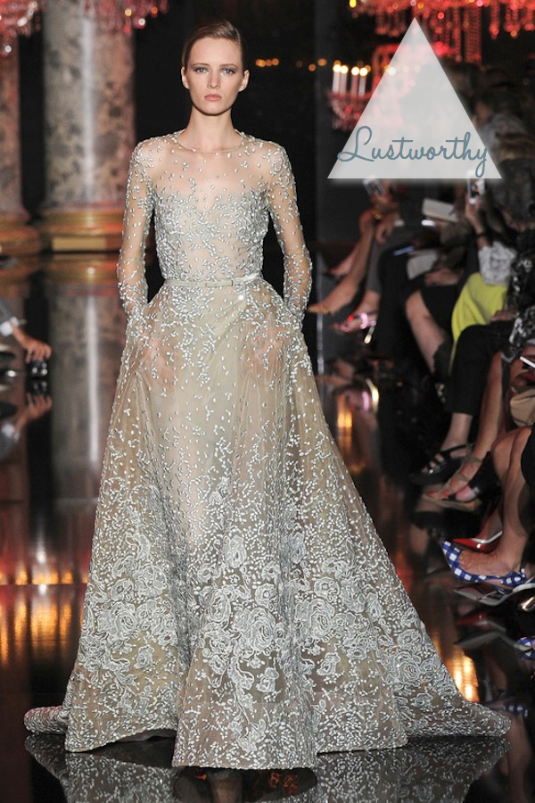 CRUSH OF THE WEEK - ELIE SAAB AUTUMN WINTER 2015 COUTURE - The Bijou ...