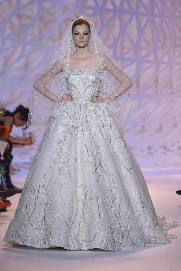 zuhair murad couture wedding dress