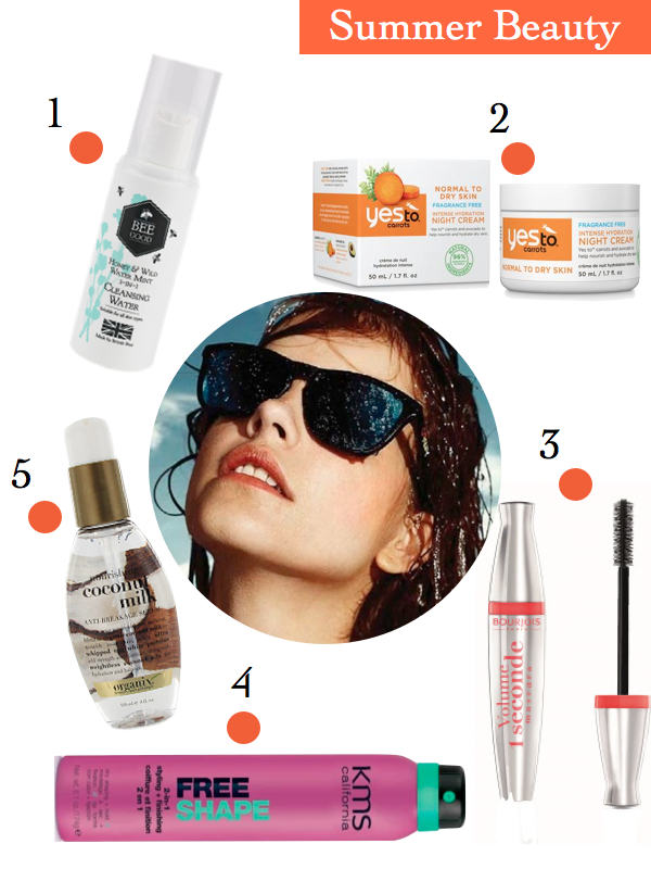 summer beauty must haves 2014