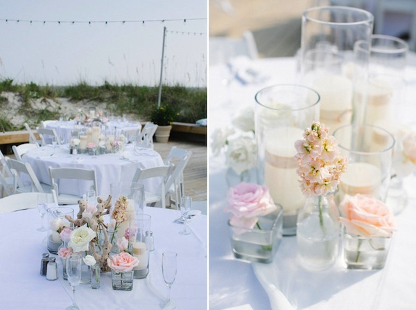 pastel beach wedding