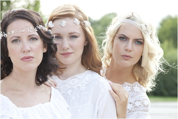 romantic wedding styling make up