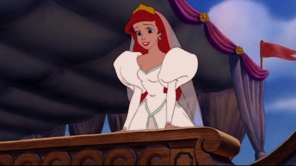 Disney Ariel Wedding Dress In The Little Mermaid