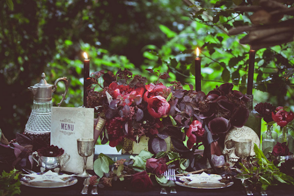 mystical woodland wedding inspiration