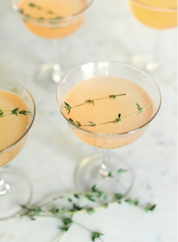 gin new years eve cocktail recipe
