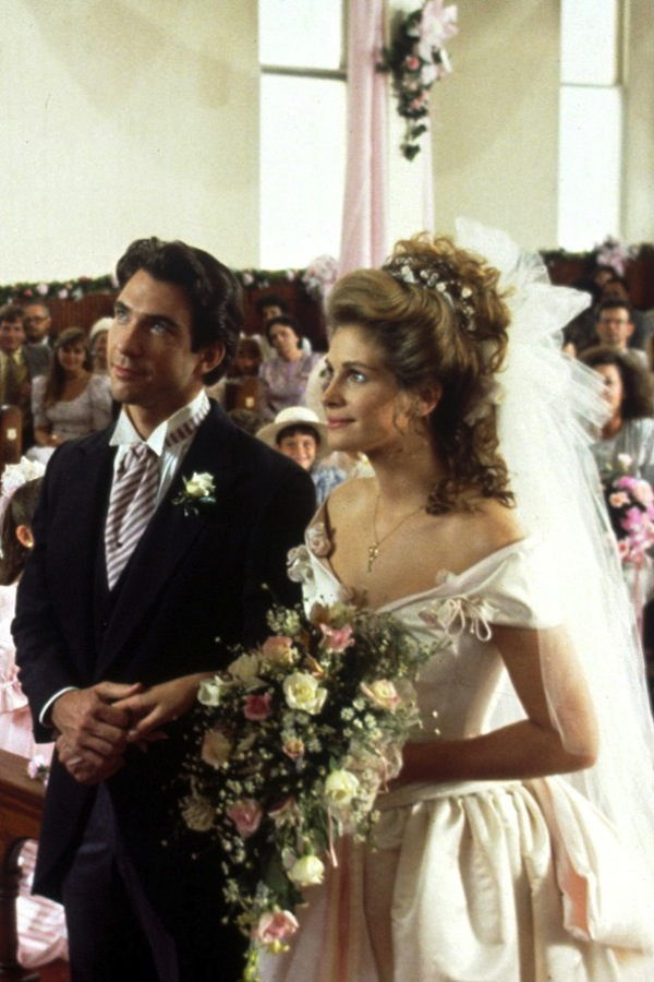 steel magnolias wedding dress