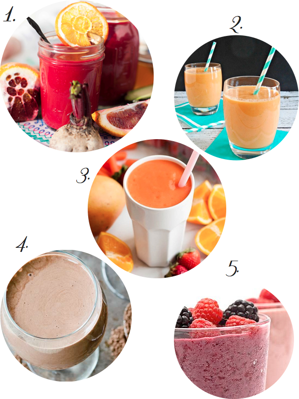 smoothie recipes for brides
