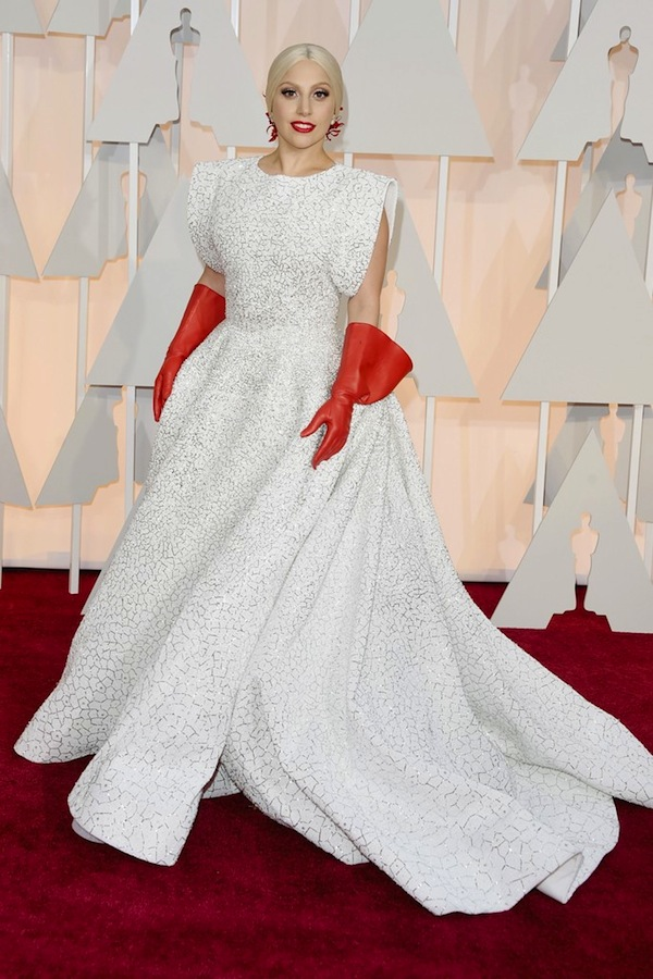 lady gaga academy awards 2015
