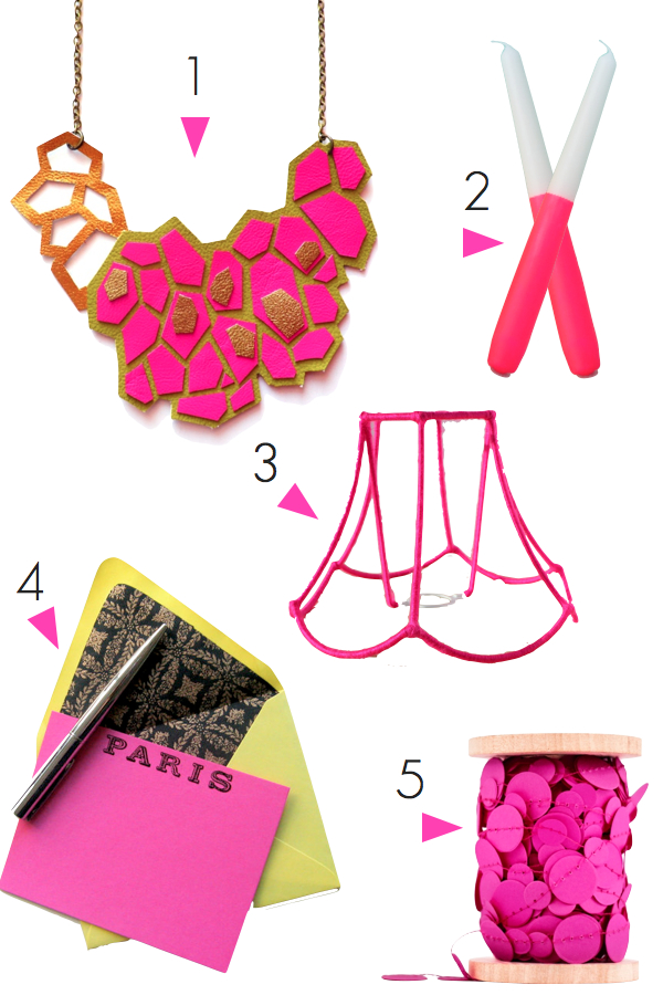 etsy neon pink