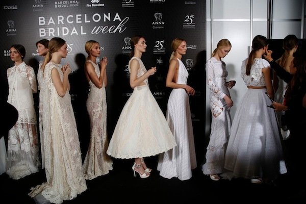 barcelona bridal week 2016 behind the scenes