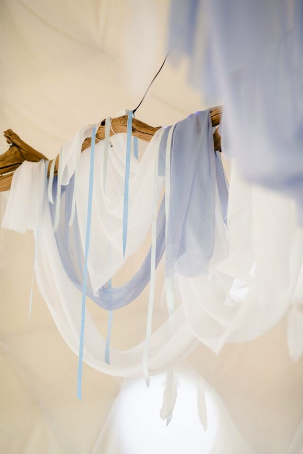 hanging installation wedding