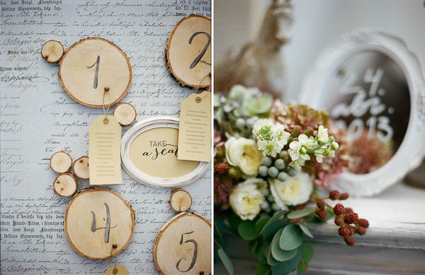 rustic table plan ideas