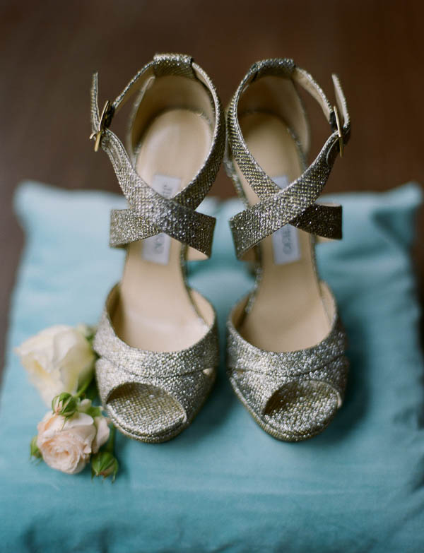 sparkle jimmy choo wedding shoes