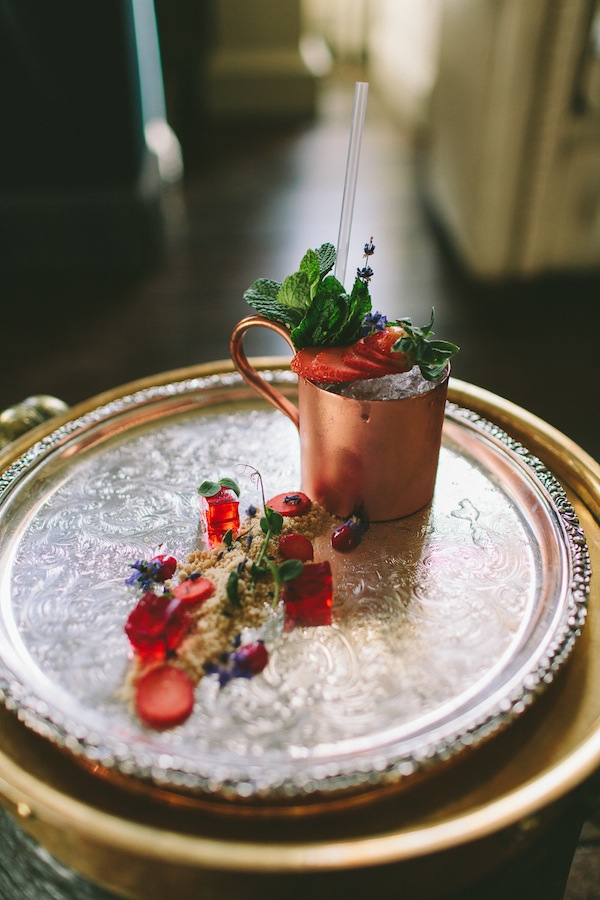 unique strawberry cocktail recipe