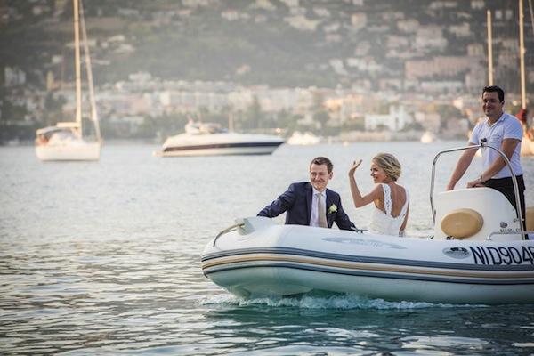 speedboat wedding