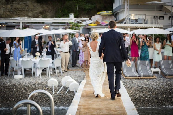 beach wedding france