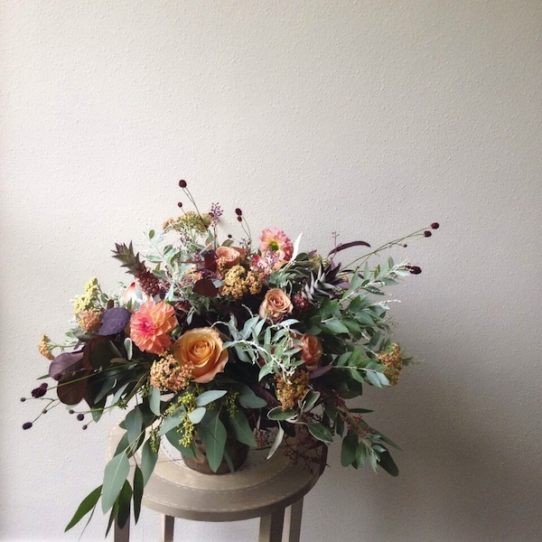 autumn wedding flower ideas