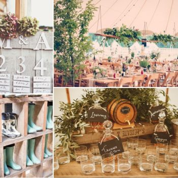 rustic luxe tent wedding papakata