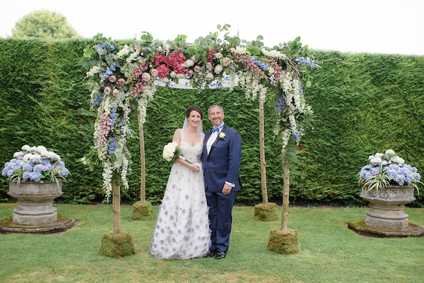 jewish wedding english country garden