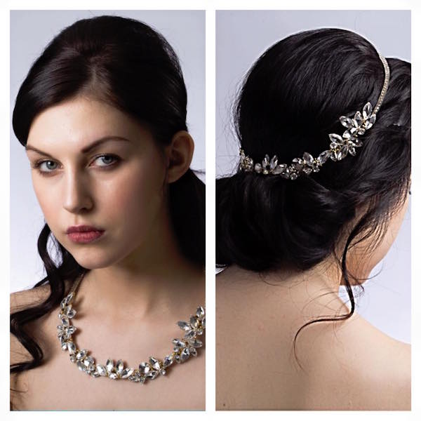 multi way bridal accessory headpiece necklace