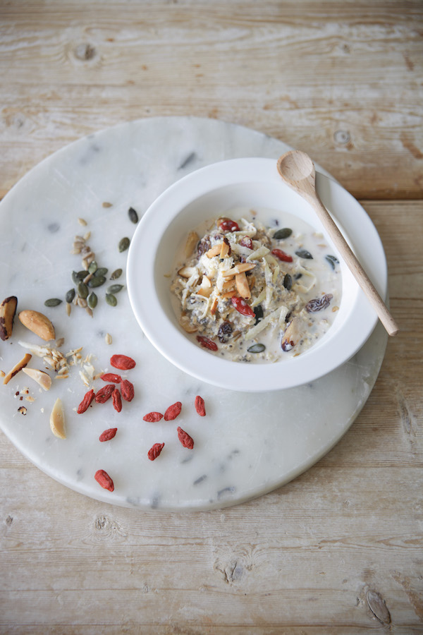 wedding day breakfast muesli recipe daylesford