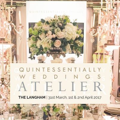 quintessentially weddings atelier 2017