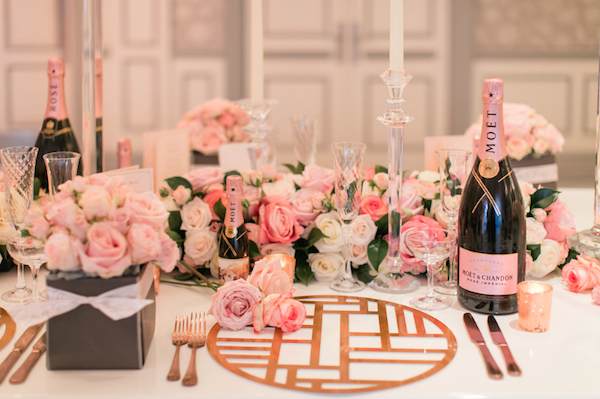 moet and chandon wedding