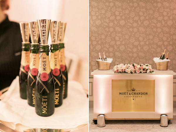 moet and chandon champagne wedding planner