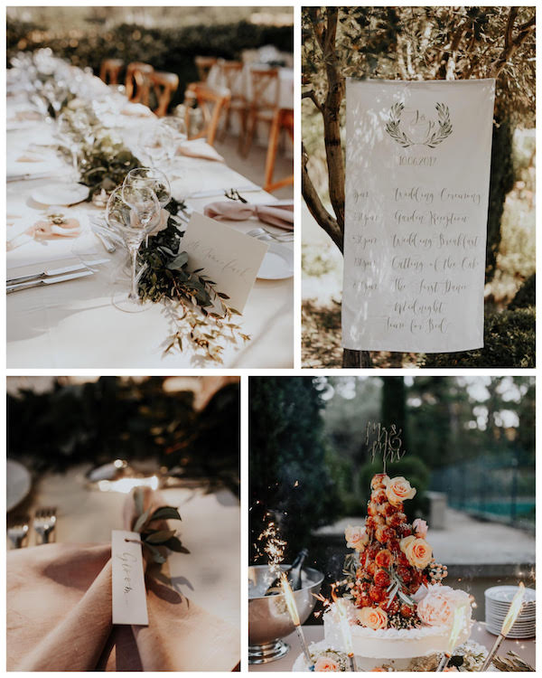 intimate french wedding, french wedding planner, london planner, intimate wedding, provence wedding