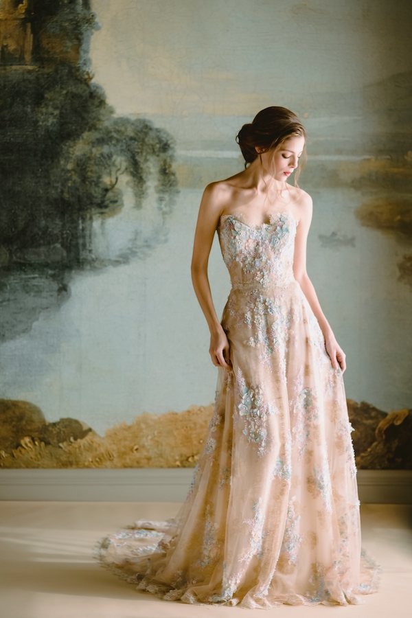 claire pettibone 2019 collection, claire pettibone wedidng dress, claire pettibone ophelia