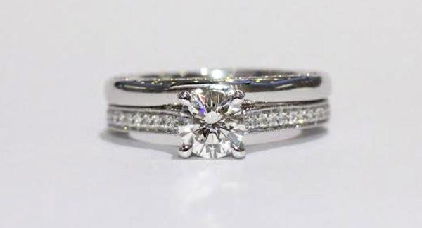 Wedding Band Engagement Ring Order