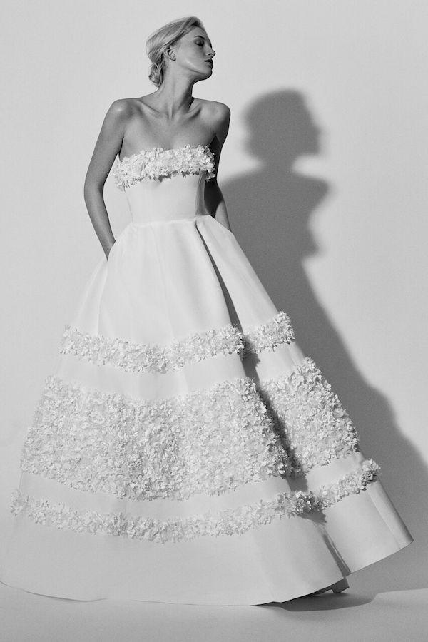 carolina herrera 2018 wedding dress